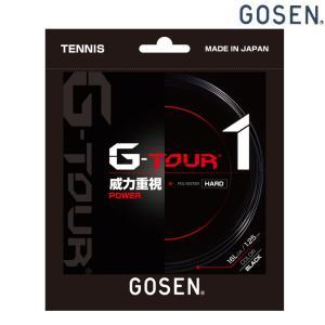 「2017モデル」GOSEN(ゴーセン)「G-TOUR1(ジーツアー1) 16LGA TSGT11」 硬式テニスストリング(ガット)KPI+|sportsjapan