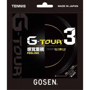 ゴーセン GOSEN テニスガット・ストリング  G-TOUR3 16L TSGT30|sportsjapan