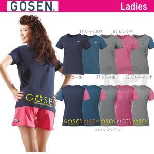 テニスウェア レディース ゴーセン GOSEN Tシャツ UT1501 SS sportsjapan