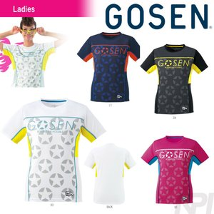 「2017モデル」GOSEN(ゴーセン)「レディースファンプラシャツ UT1601」テニスウェア「2016SS」「テニコレ掲載」KPI+|sportsjapan