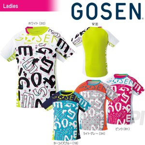 GOSEN ゴーセン 「レディース ファンプラシャツ UT1701」テニスウェア「2017SS」|sportsjapan