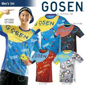 ゴーセン GOSEN テニスウェア ユニセックス ファンプラシャツ UT1800 2018SS|sportsjapan