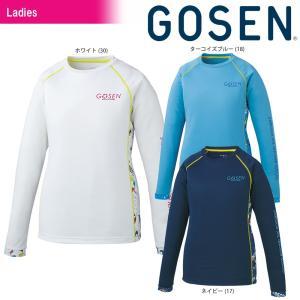 ゴーセン GOSEN テニスウェア レディース ファンプラロンT UT1803 2018SS sportsjapan