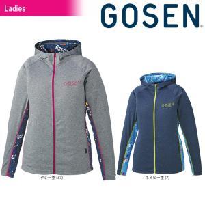 ゴーセン GOSEN テニスウェア レディース ファンプラジップアップ UT1805 2018SS|sportsjapan