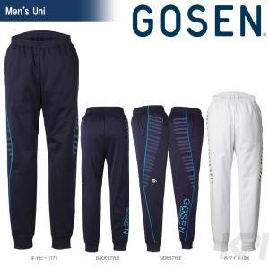 テニスウェア ユニセックス ゴーセン GOSEN 裏フリースサルエルパンツ UW1502 FW|sportsjapan
