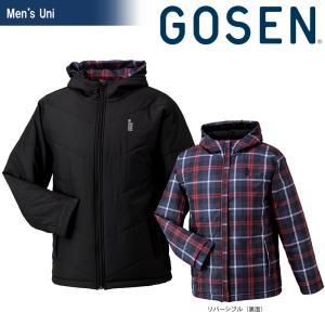 ゴーセン GOSEN テニスウェア ユニセックス リバーシブル中綿コート UY1410|sportsjapan