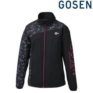 ゴーセン GOSEN テニスウェア レディース ウィンドウォーマージャケット 裏起毛  UY1801 2018FW|sportsjapan