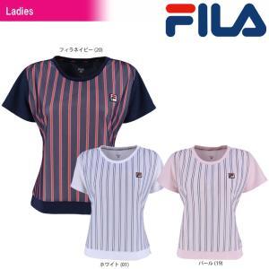 フィラ FILA テニスウェア レディース ゲームTシャツ VL1774 2018SS|sportsjapan