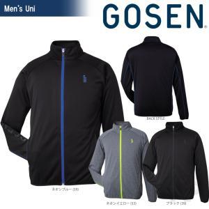 テニスウェア ユニセックス ゴーセン GOSEN ユニ ニットジャケット W1500 FW|sportsjapan