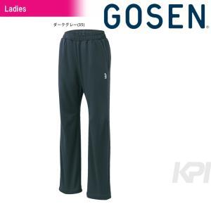 GOSEN ゴーセン 「Women's レディース ソフトニットパンツ W1603」テニスウェア「2016FW」|sportsjapan