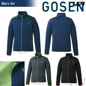 ゴーセン GOSEN テニスウェア UNI ストレッチジャージジャケットW1700 2017FW「2017新製品」|sportsjapan