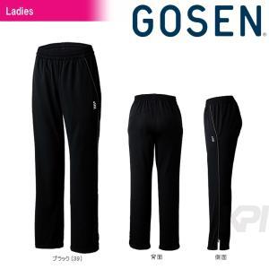 「2017新製品」GOSEN(ゴーセン)「レディース ニットライトパンツ W1701L」テニスウェア「2017SS」KPI+|sportsjapan