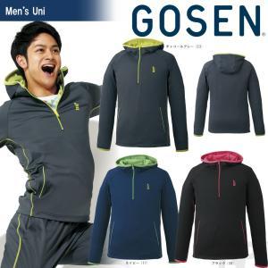 ゴーセン GOSEN テニスウェア UNI ストレッチジャージフーディー W1702 2017FW「2017新製品」|sportsjapan