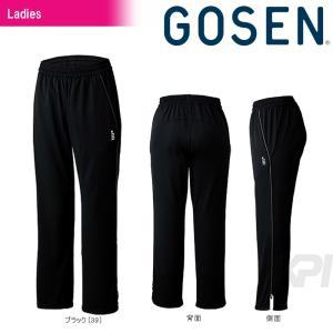 「2017新製品」GOSEN(ゴーセン)「レディース ニットライトパンツ W1703S」テニスウェア「2017SS」KPI+|sportsjapan
