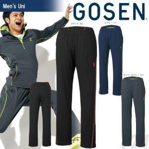テニスウェア ユニセックス ゴーセン GOSEN ストレッチジャージパンツ W1704 2017FW 2017新製品|sportsjapan