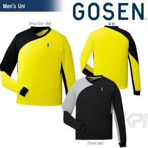 「2017新製品」GOSEN ゴーセン 「UNI ライトトレーナー W1710」テニスウェア「2017SS」|sportsjapan