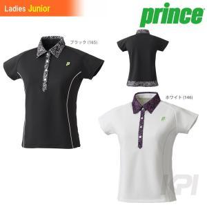 「2017新製品」Prince(プリンス)「ガールズ ゲームシャツ WJ187G」テニスウェア「2017SS」KPI+|sportsjapan
