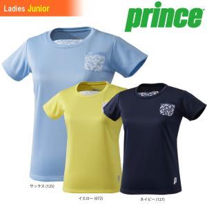 プリンス Prince テニスウェア ジュニア ガールズゲームシャツ WJ197G 2018SS 『即日出荷』|sportsjapan