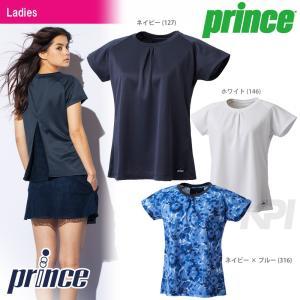 「2017新製品」Prince(プリンス)「レディース ゲームシャツ WL7043」テニスウェア「2017SS」KPI+|sportsjapan