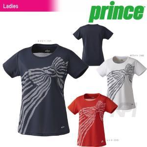 『即日出荷』「2017新製品」Prince プリンス 「レディース ゲームシャツ WL7075」テニスウェア「2017FW」|sportsjapan