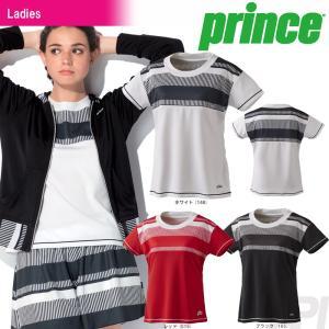 『即日出荷』「2017新製品」Prince プリンス 「レディース ゲームシャツ WL7077」テニスウェア「2017FW」|sportsjapan
