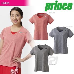 『即日出荷』「2017新製品」Prince プリンス 「レディース ゲームシャツ WL7081」テニスウェア「2017FW」|sportsjapan