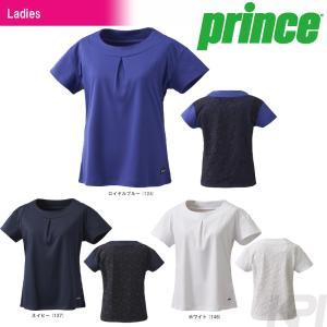 テニスウェア レディース プリンス Prince ゲームシャツ WL7082 2017FW 2017新製品|sportsjapan