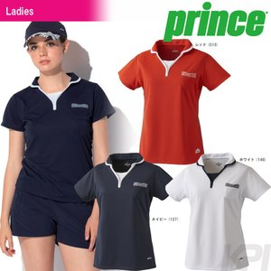 『即日出荷』「2017新製品」Prince プリンス 「レディース ゲームシャツ WL7150」テニスウェア「2017FW」|sportsjapan