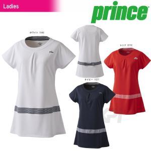 『即日出荷』「2017新製品」Prince プリンス 「レディース チュニックシャツ WL7410」テニスウェア「2017FW」|sportsjapan