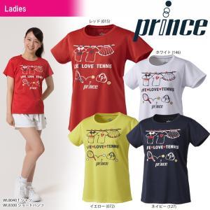 テニスウェア レディース プリンス Prince Tシャツ WL8040 2018SS 即日出荷|sportsjapan