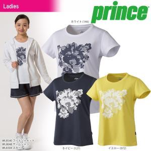 プリンス Prince テニスウェア レディース ゲームシャツ WL8048 2018SS 『即日出荷』|sportsjapan
