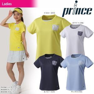 プリンス Prince テニスウェア レディース ゲームシャツ WL8049 2018SS 『即日出荷』|sportsjapan