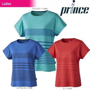 プリンス Prince テニスウェア レディース ゲームシャツ WL8060 2018SS『即日出荷』|sportsjapan