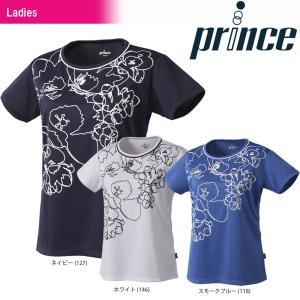 プリンス Prince テニスウェア レディース ゲームシャツ WL8067 2018SS『即日出荷』|sportsjapan