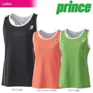 テニスウェア レディース プリンス Prince スレーブレスシャツ WL8075 2018SS 即日出荷|sportsjapan
