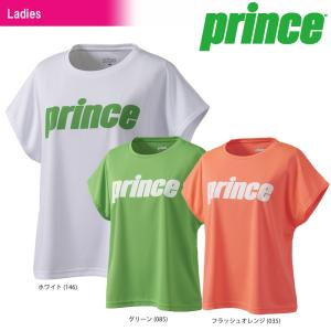 テニスウェア レディース プリンス Prince Tシャツ WL8077 2018SS 即日出荷|sportsjapan