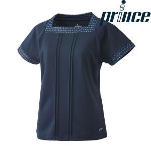 プリンス Prince テニスウェア レディース ゲームシャツ WL8083 2018FW|sportsjapan