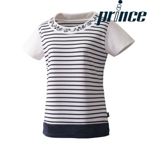プリンス Prince テニスウェア レディース ゲームシャツ WL8086 2018FW|sportsjapan