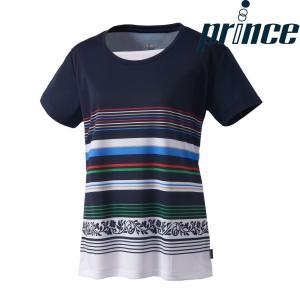 プリンス Prince テニスウェア レディース ゲームシャツ WL8088 2018FW|sportsjapan