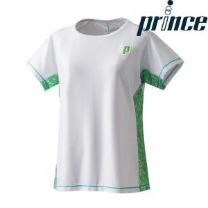 プリンス Prince テニスウェア レディース ゲームシャツ WL8099 2018FW|sportsjapan