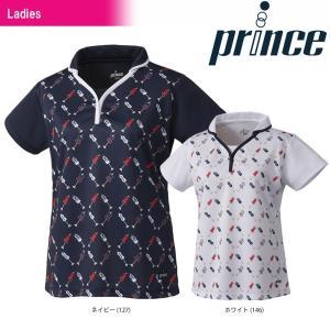 テニスウェア レディース プリンス Prince ゲームシャツ WL8140 2018SS 即日出荷|sportsjapan
