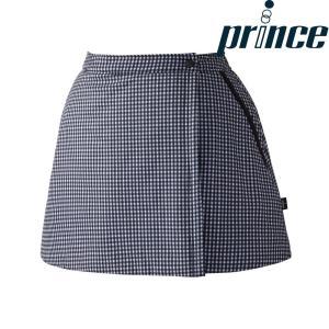 プリンス Prince テニスウェア レディース 中綿ラップスカート WL8850 2018FW|sportsjapan