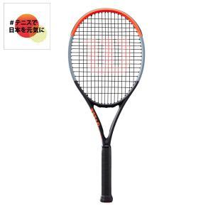 ウイルソン Wilson テニス 硬式テニスラケット  CLASH 100 クラッシュ100 WR005611S「#テニスで日本を元気に!プロジェクト」|sportsjapan