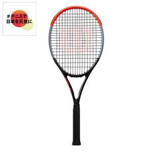 ウイルソン Wilson テニス硬式テニスラケット  CLASH 100 TOUR クラッシュ100ツアー WR005711S「#テニスで日本を元気に!プロジェクト」|sportsjapan