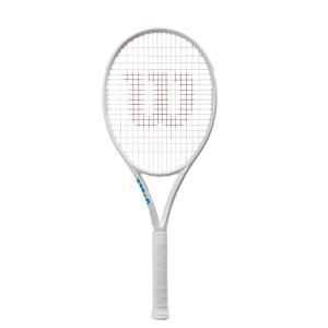 ウイルソン Wilson 硬式テニスラケット  ULTRA 100L White in White ウルトラ100L ホワイトインホワイト WR011111S|sportsjapan