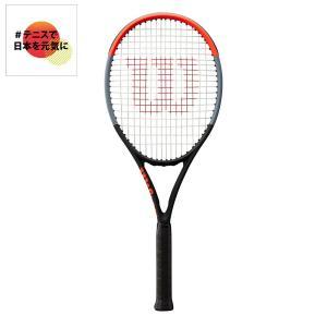 ウイルソン Wilson テニス 硬式テニスラケット  CLASH 100UL クラッシュ 100UL WR015811S 「#テニスで日本を元気に!プロジェクト」|sportsjapan