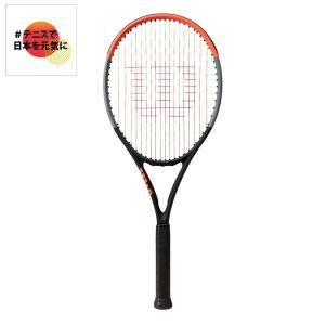ウイルソン Wilson テニス 硬式テニスラケット  CLASH 100S クラッシュ 100S WR037011S「#テニスで日本を元気に!プロジェクト」|sportsjapan