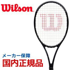 ウイルソン Wilson テニス 硬式テニスラケット  PRO STAFF 97L Black in Black プロスタッフ 97L WR038311S|sportsjapan