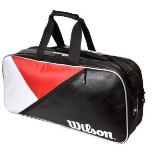 ウイルソン Wilson テニスバッグ・ケース  RECTANGLE BAG IV JPN RD/BK/Wh WR8002102001 『即日出荷』|sportsjapan