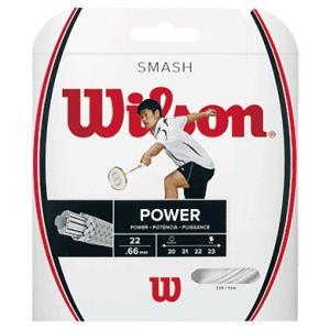 Wilson ウイルソン 「SMASH 66 スマッシュ66  WRR9429」バドミントンストリング ガット|sportsjapan